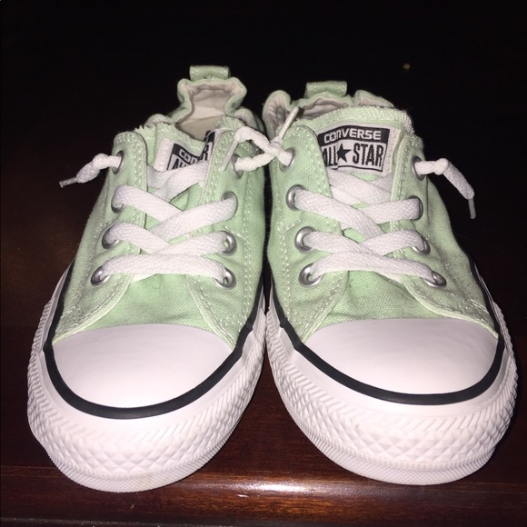 2f4ff1c02f46 Converse Shoes - NWOT Mint Green Converse Slip On Sneakers
